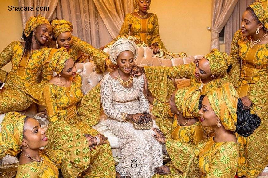 THE BEAUTIFUL HAUSA WEDDING OF AWWAL AND SAMIRA