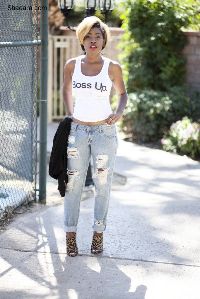 THESE ARE THE MANY WAYS YOU CAN STYLE YOUR TANK TOPS