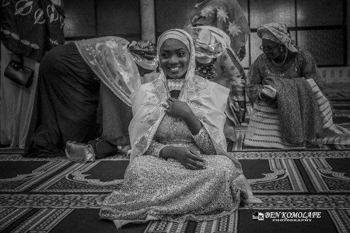 MOMENTS FROM THE MUSLIM WEDDING OF RAHMA AND KAREEM