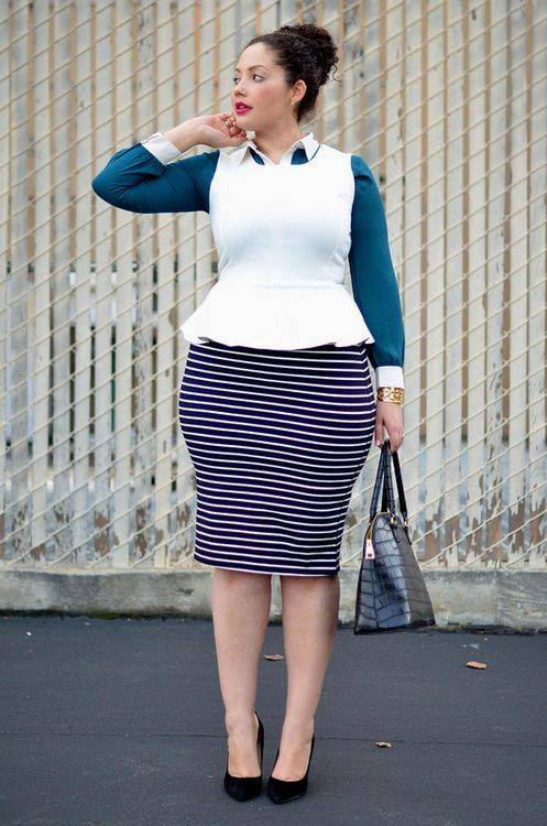 THE GENIUS WAYS TO WEAR STRIPES AT WORK