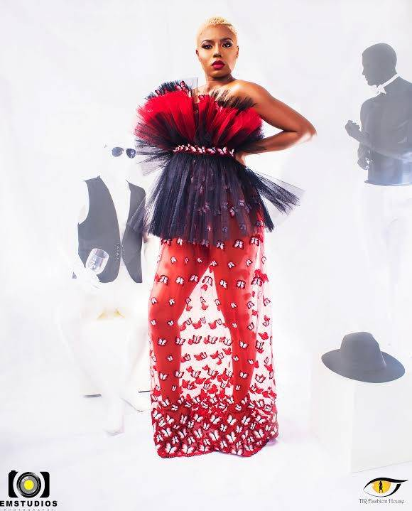 FASHION LOOKBOOK: NANCY OSIME DEBUTING THE RED SEA COLLECTION FOR TIR FASHION