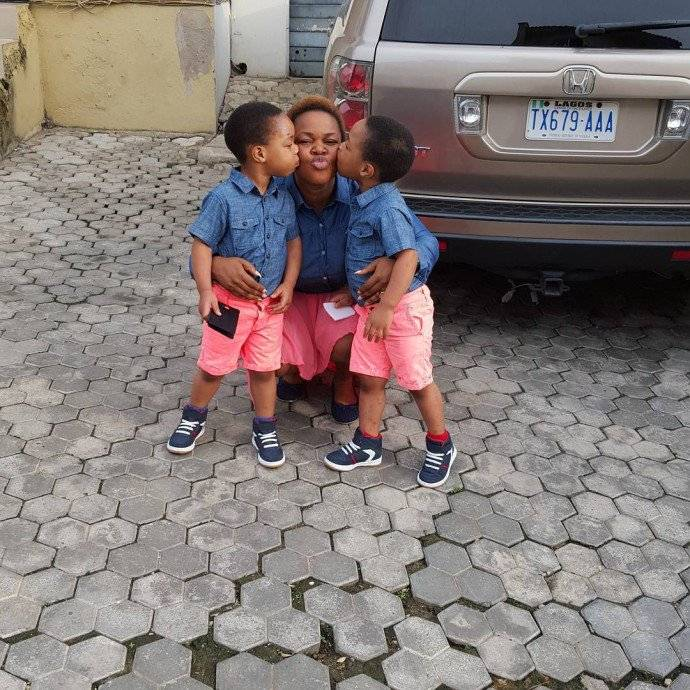 NIGERIAN CELEBRITIES WITH THE MOST ADORABLE TWIN CHILDREN