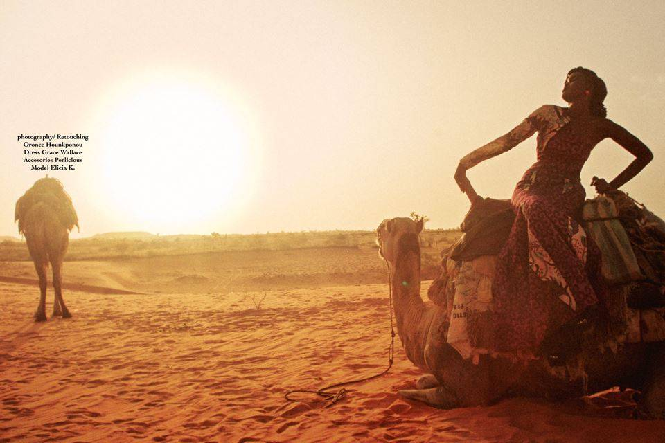 Grace Wallace Presents The Look Book For 'Le Sahara' Collection Shot In The Desert