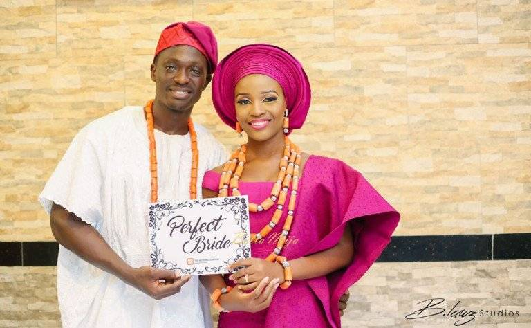 TRADITIONAL ENGAGEMENT WEDDING OF TOMI AND SEUN