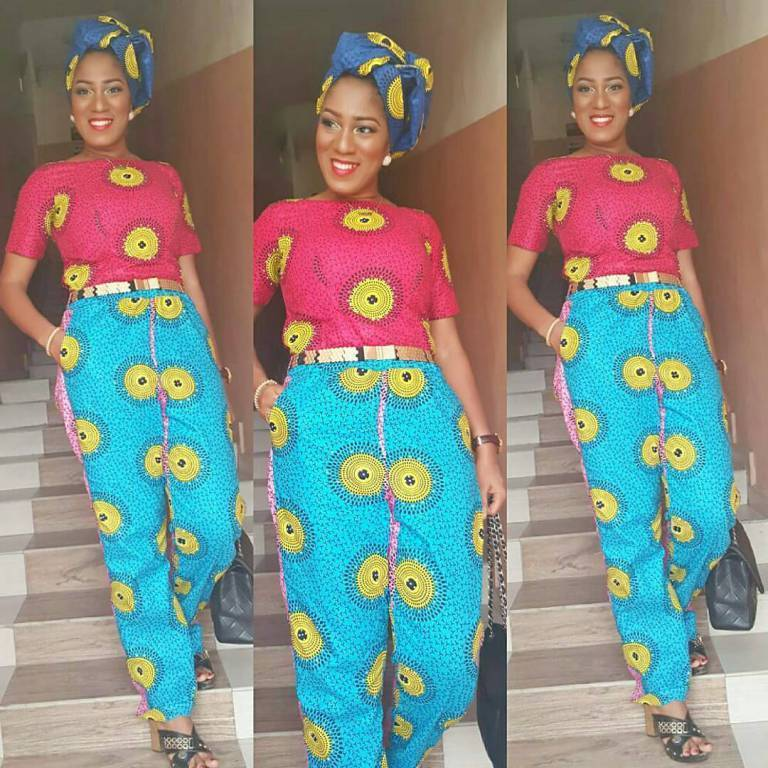 CHECK OUT THE ANKARA JUMPSUITS STYLES FASHIONISTAS ARE ROCKING THESE DAYS