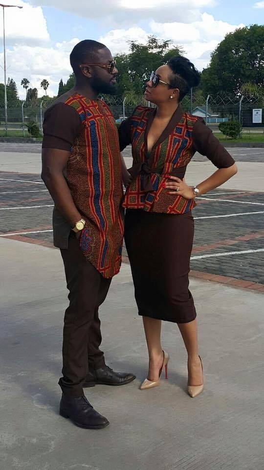 CATCH THE TWINNING FEVER WITH THESE COUPLE AFRICAN LOOKS
