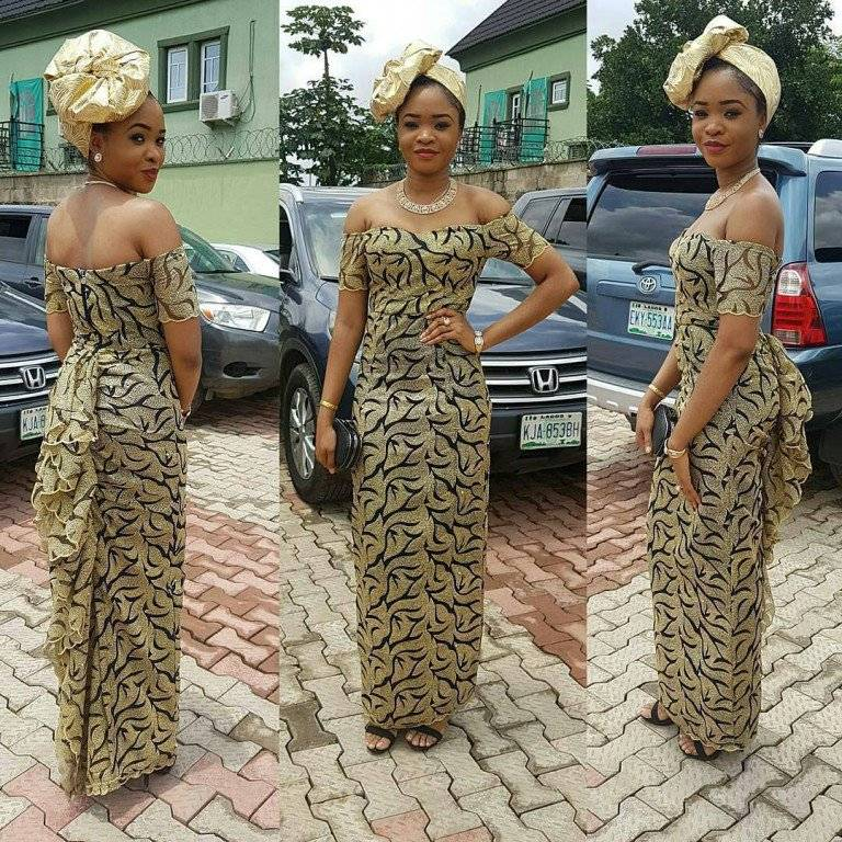 LACE ANKARA AND MORE HOT ASO EBI STYLES FROM THIS PAST WEKEND