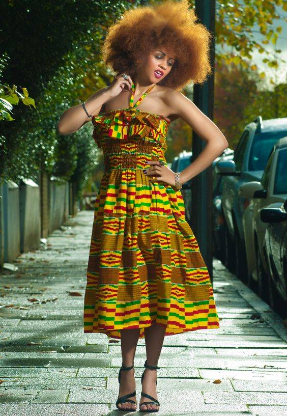 THESE HALTER NECK ANKARA STYLES ARE WHAT YOU NEED FOR THIS SEASON