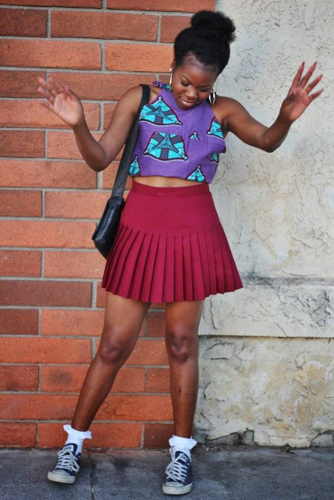 ANKARA AND SNEAKERS IS THE LATEST STYLE TREND IN AFRICAN FASHION