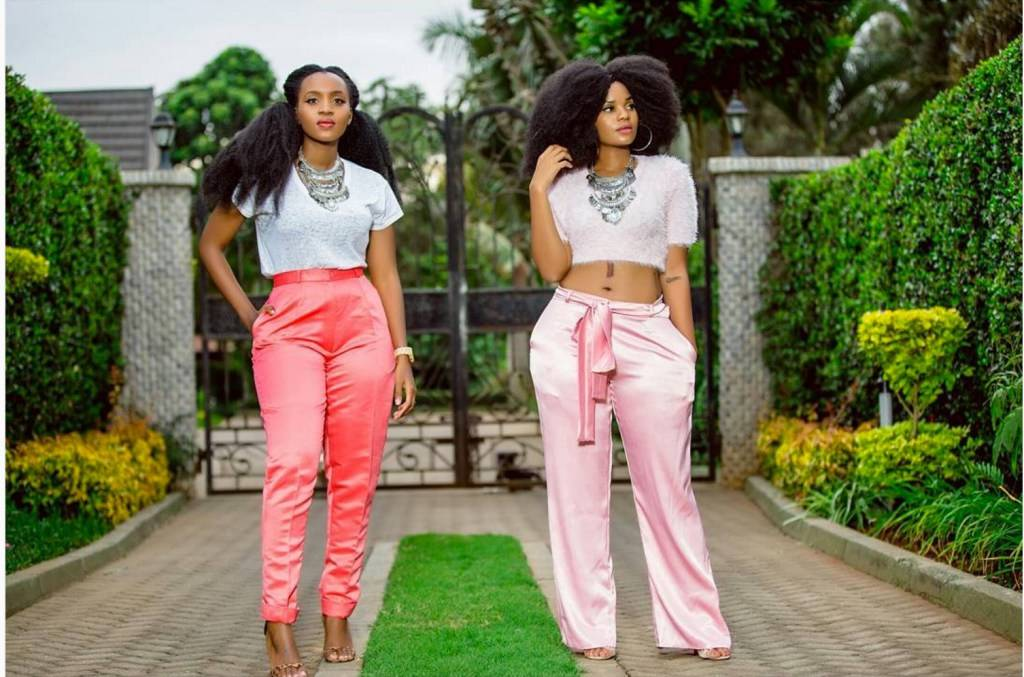 Kenyan Twin Sisters & Bloggers Anita & Lisa Gaitho Debut Their New Label 'Siri Studio'