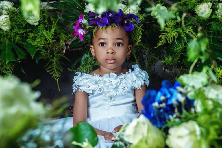 SEE THESE GORGEOUS FLOWER GIRL DRESSES BY MONBEBE LAGOS
