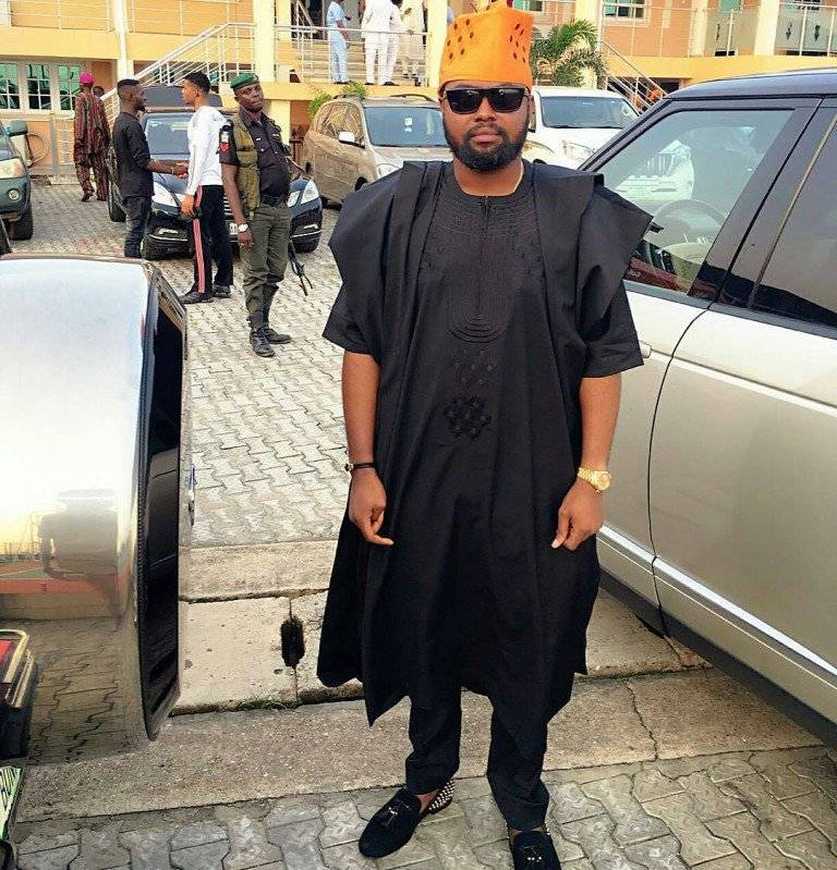 AFRICAN MEN AGBADA STYLE FASHION: YORUBA DEMON EDITED
