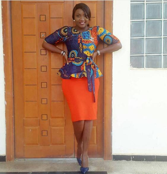 PLAIN AND PATTERNED ANKARA STYLES YOU NEED TO ROCK NOW