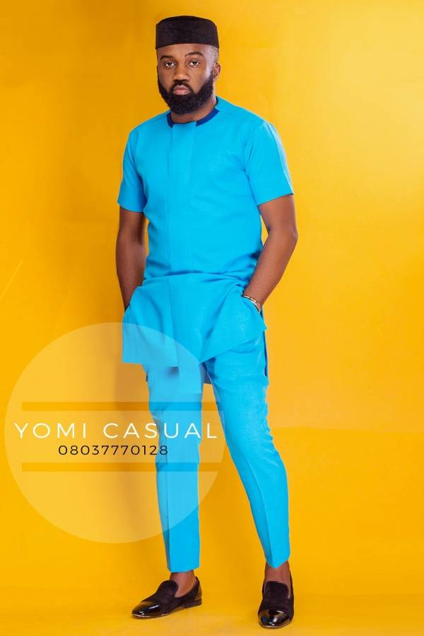 Nigerian Menswear Designer Yomi Casual Enlists Noble Igwe As His Muse (Lookbook)
