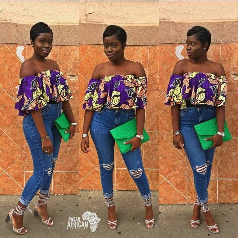 THE OFF-THE-SHOULDER ANKARA TREND EVERY ONE IS CRAZY ABOUT