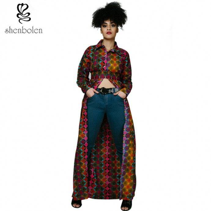 THESE ARE ANKARA LONG SLEEVE STYLES YOU NEED THIS RAINY AUGUST BREAK