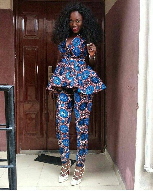 THROW BACK TO BEING FASHIONABLE IN THESE LATEST ANKARA STYLES