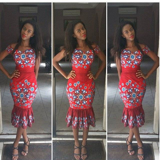 THESE ANKARA TRUMPET DRESSES TREND YOU SHOULD JOIN NOW