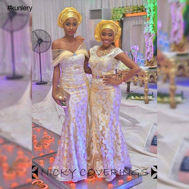 fashion nova : CHAMPAGNE COLORED ASO EBI STYLES THAT WOULD KNOCK YOU OFF YOUR FEET