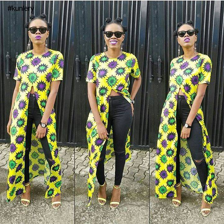 LATEST ANKARA STYLES PERFECT FOR THE WEEKEND OUTING