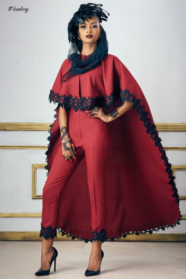 "FOR THE SOPHISTICATED WOMAN: NOUVA COUTURE PRESENTS ITS LATEST COLLECTION THEMED ""MIDDLE EAST LAGOS"""