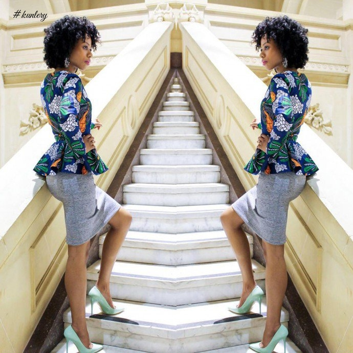 Why Peplum Tops Are Such A Hit Amongst African Women