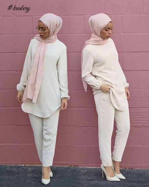 COOL HIJAB STYLES FOR THE SALLAH HOLIDAYS