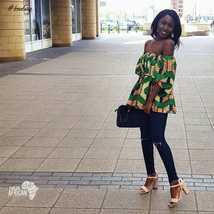 THIS ARE THE COOL WAYS YOU CAN ROCK ANKARA AND JEANS