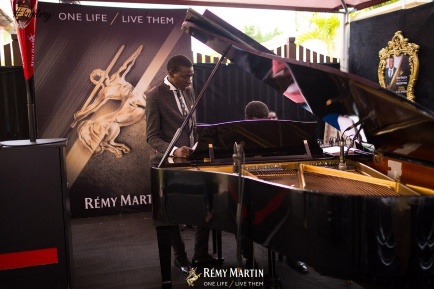 DJ JIMMY JATT, TOKE MAKINWA TARA DUROTOYE CELEBRATE THE NEW REMY MARTIN INFLUENCERS AT A PRIVATE DINNER