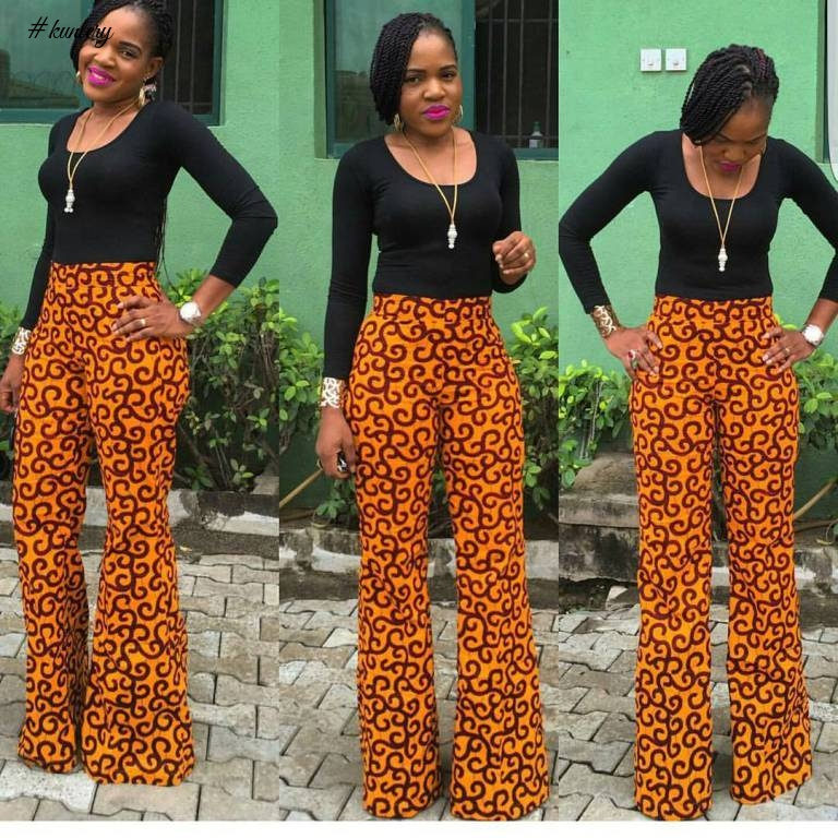 ANKARA TROUSER STYLES IS THE STYLE YOU NEED TO ADD LIFE TO YOUR WARDROBE