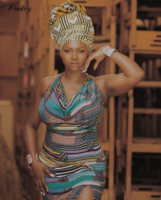 SEE PICTURES FROM SINGER WAJE'S INSPIRING NUBIAN SHOOT