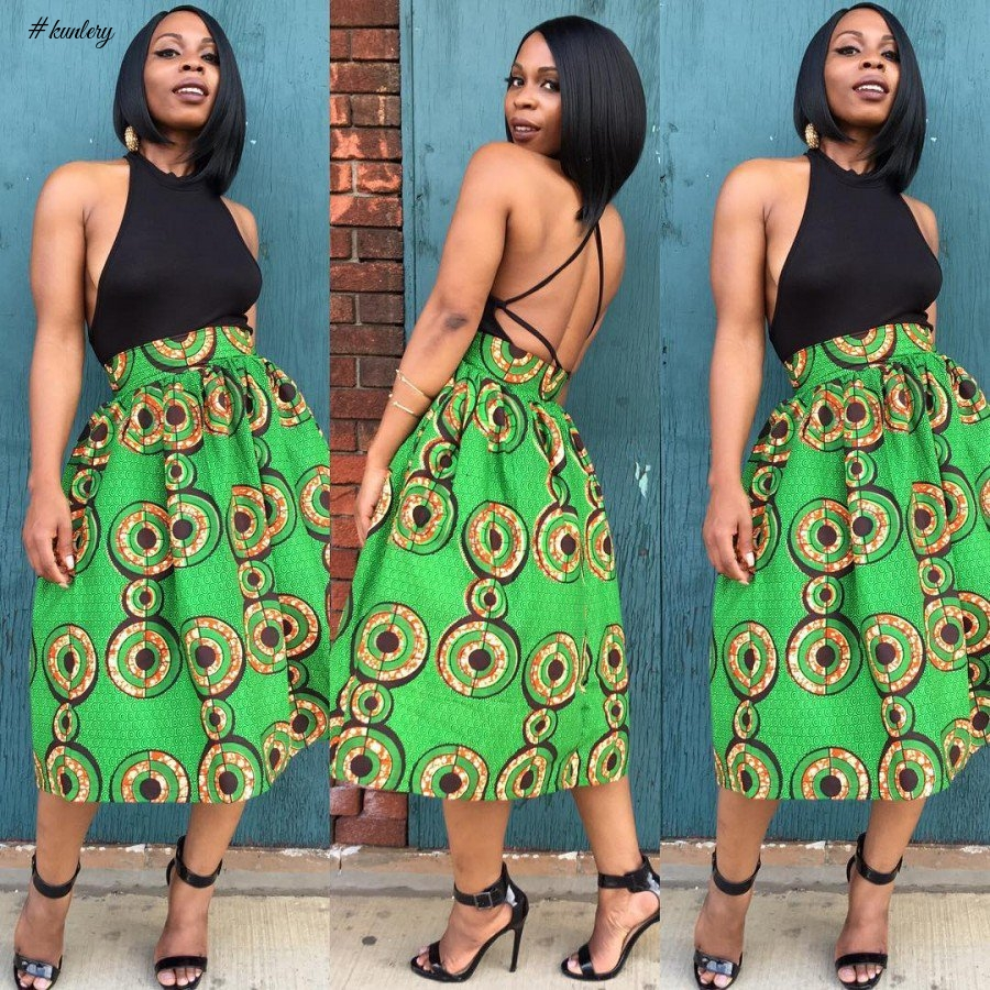 SLAY IN THESE SEXY ANKARA STYLES FOR COCKTAILS