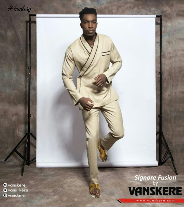 "Menswear Design Label Vanskere debuts Signore Fusion's ""Possible Conversations"" Spring 2017 Collection 