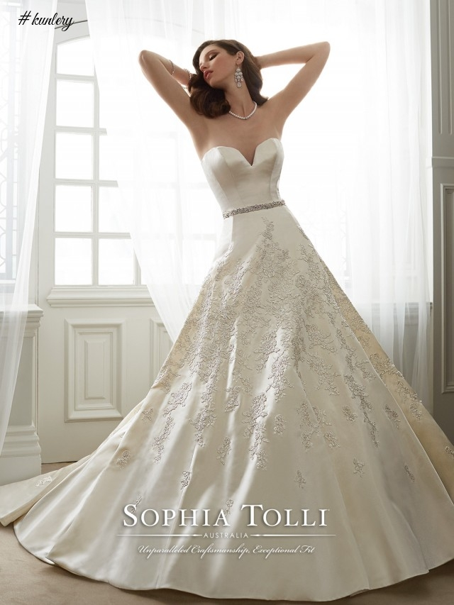 Sophia Tolli Bridal Dresses 2017 For Mon Cheri