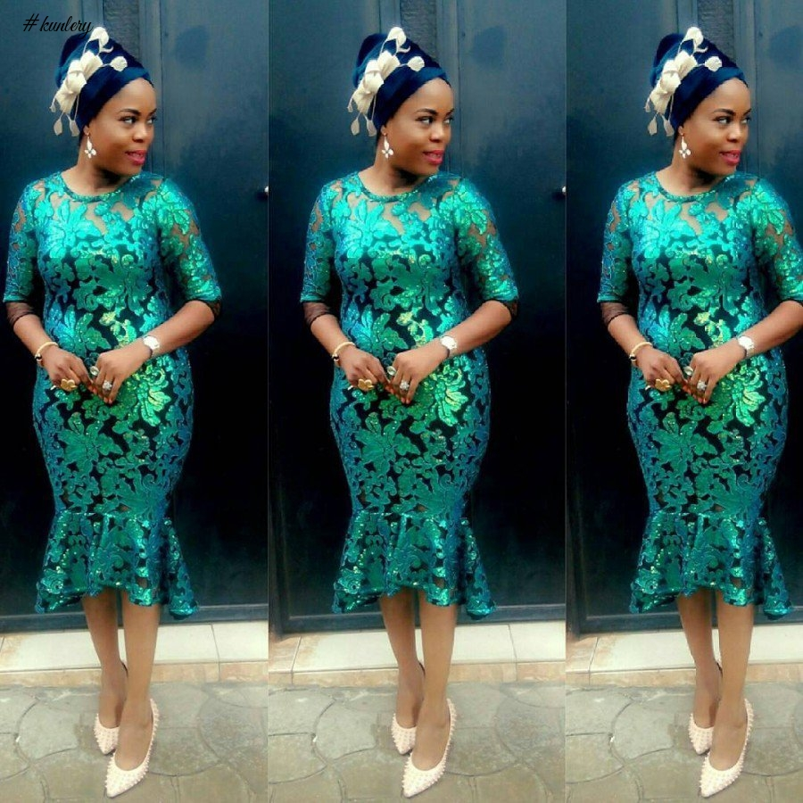 CORD LACE, CHANTILLY LACE AND MORE ASO EBI STYLES