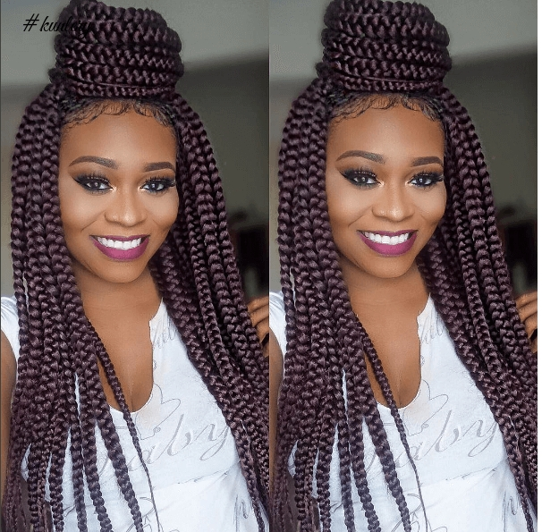 JOIN THE BOX BRAID GANG WITH THIS FABULOUS BRAID HAIRSTYLES