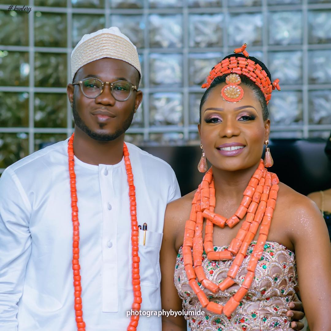 THE DELTA-YORUBA TRADITIONAL WEDDING OF CHIOMA AND WALE