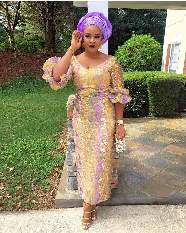 LATEST ASO EBI STYLES FLOODING THE OWAMBE PARTIES THESE DAYS