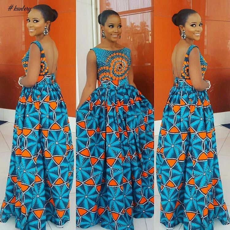 STUNNING ANKARA STYLES SLAYED BY OUR FASHIONABLE FASHIONISTA.