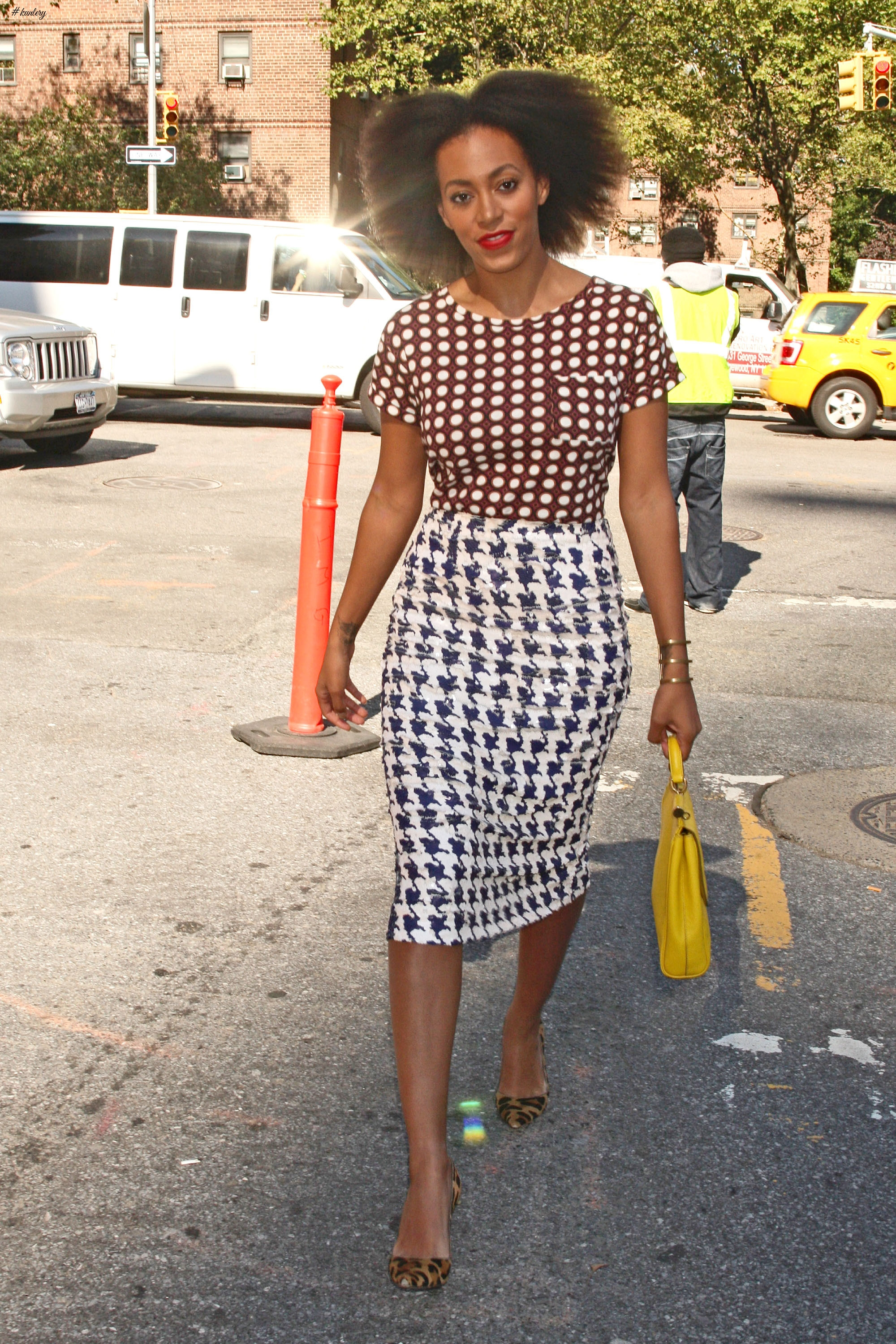 Solange Knowles- Queen of quirky fashion