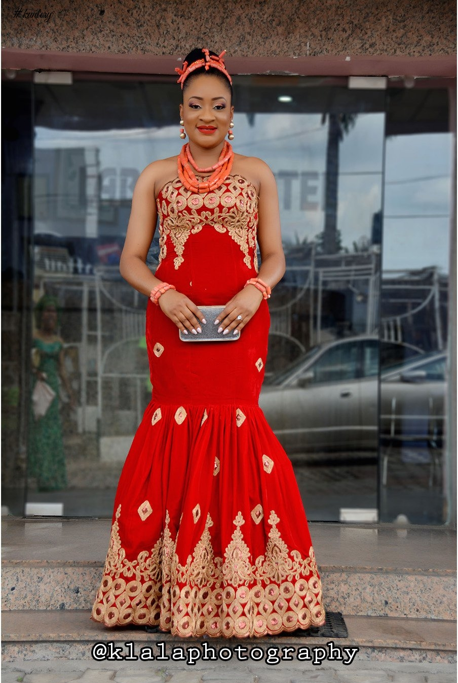 URHOBO TRADITIONAL BRIDAL LOOK
