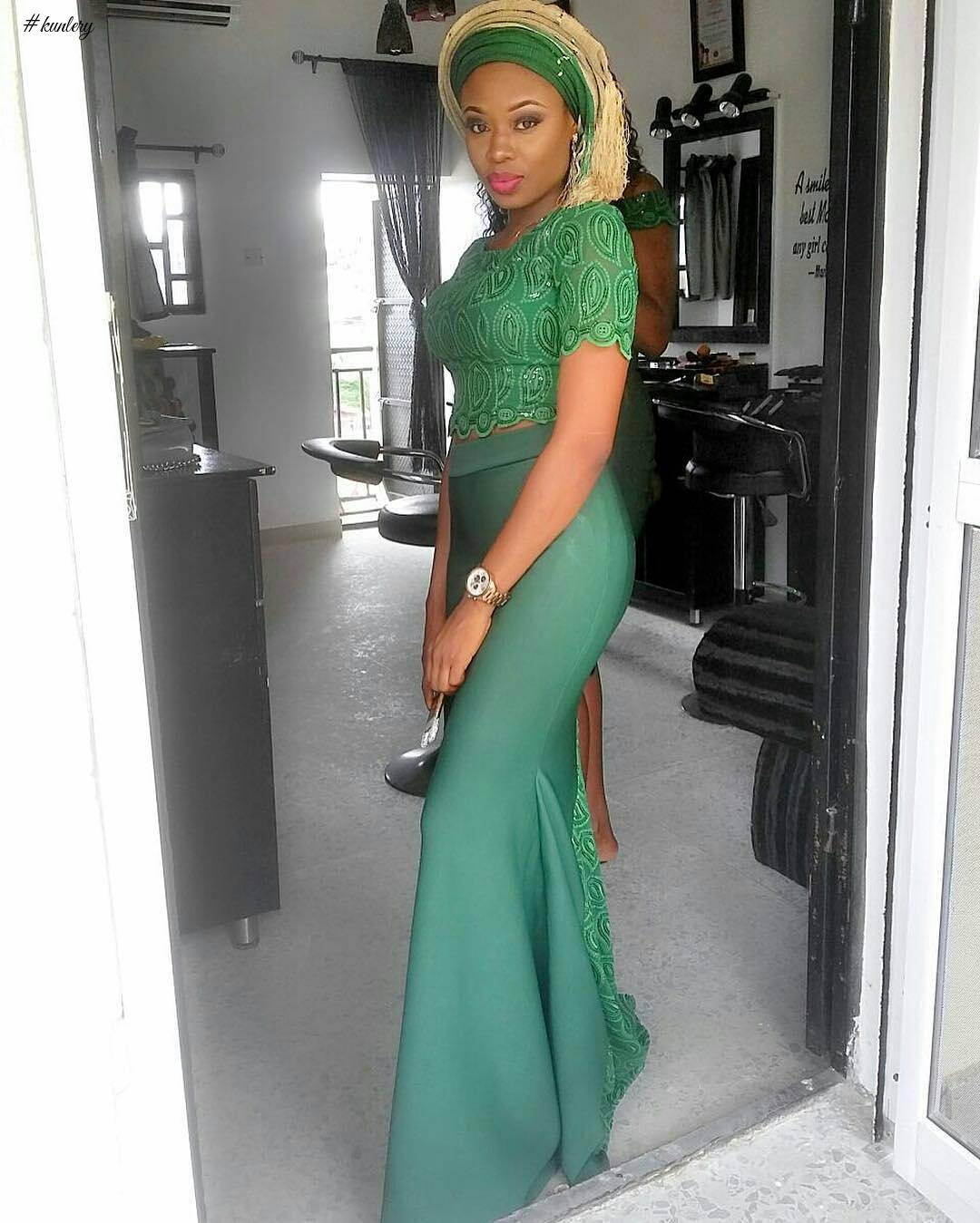 STUNNING ASO EBI STYLES SLAYED OVER THE WEEKEND.
