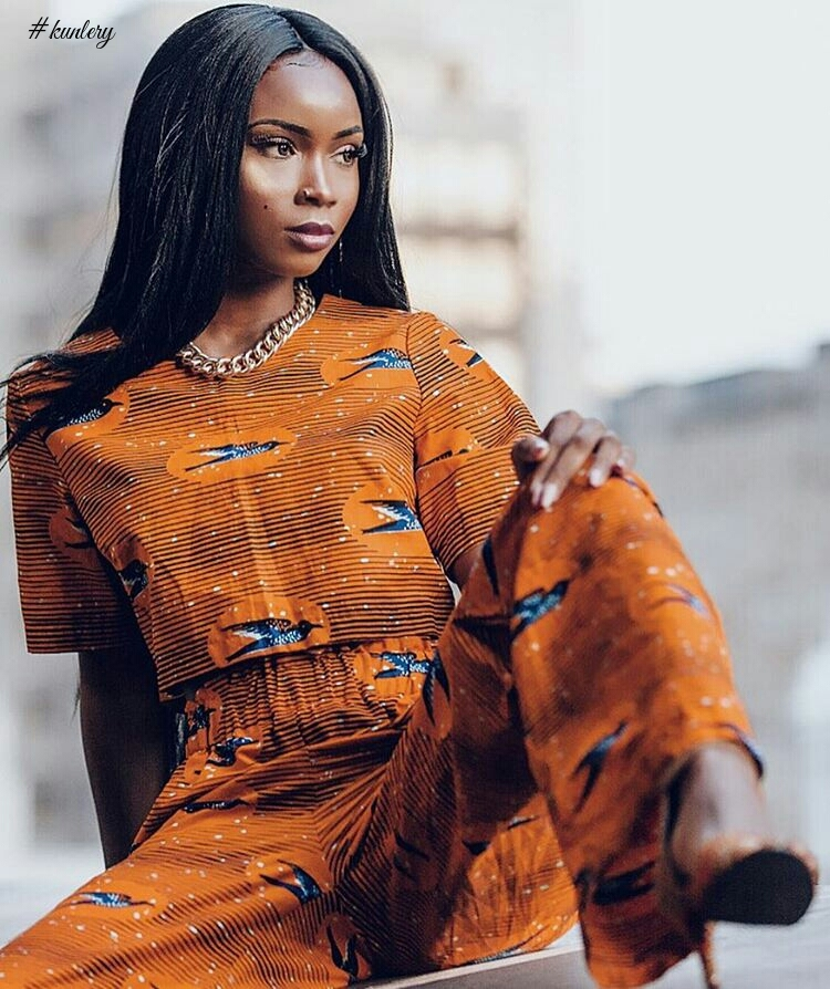 Great Ways To Rock African Prints This Month : Aissata Diallo's Edition