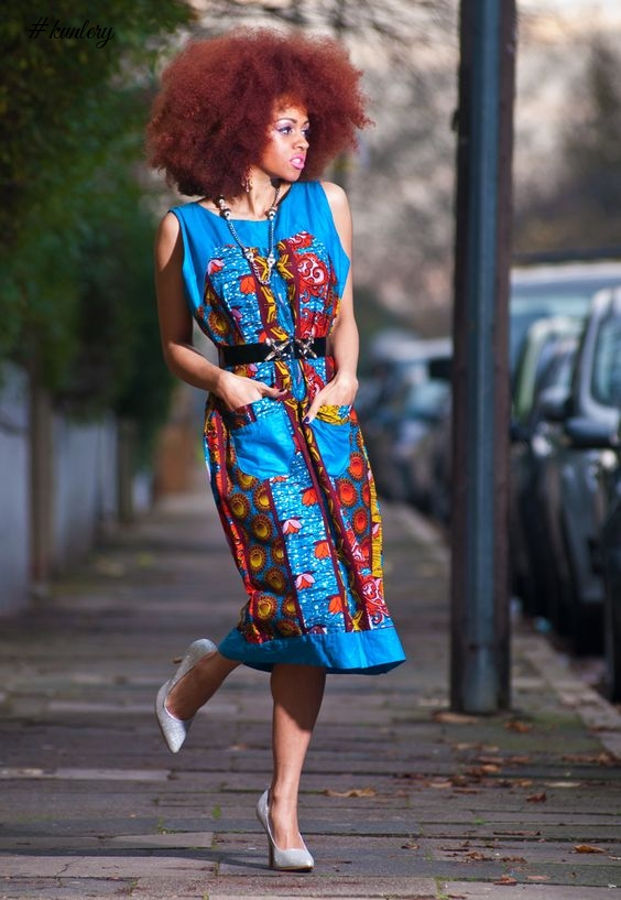 BE A STREET STYLE STAR WITH THESE ANKARA STYLES