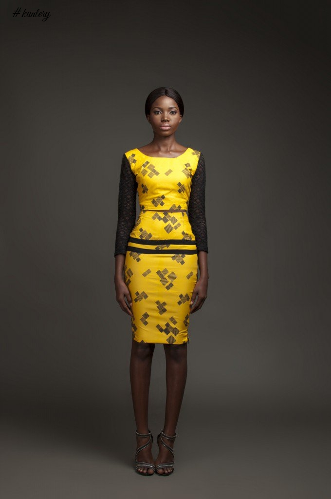 THE DANFO YELLOW COLLECTION BY ILLUSTRATIVE FASHION STUDIO