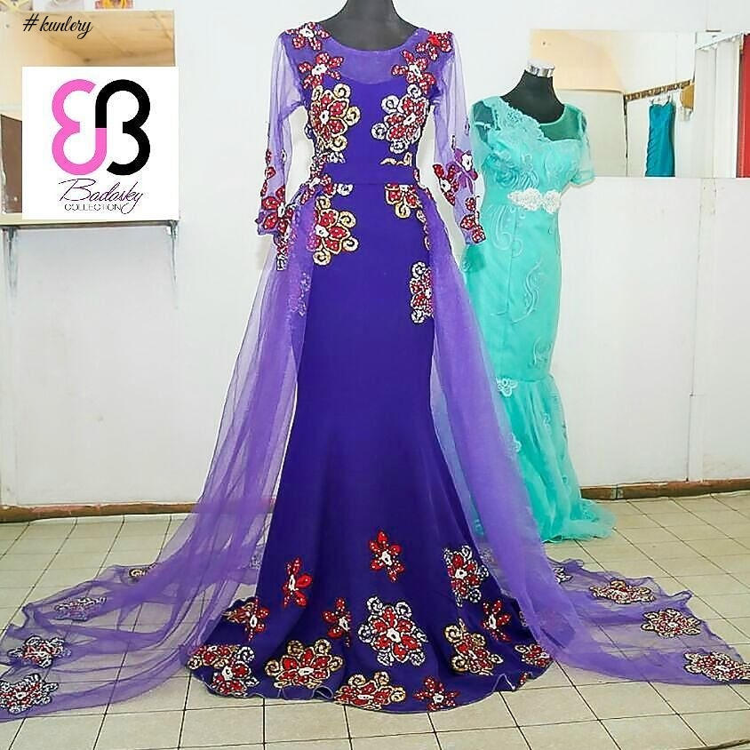 BEAUTIFUL AND FASHIONABLE ANKARA RECEPTION AND BRIDAL GOWNS