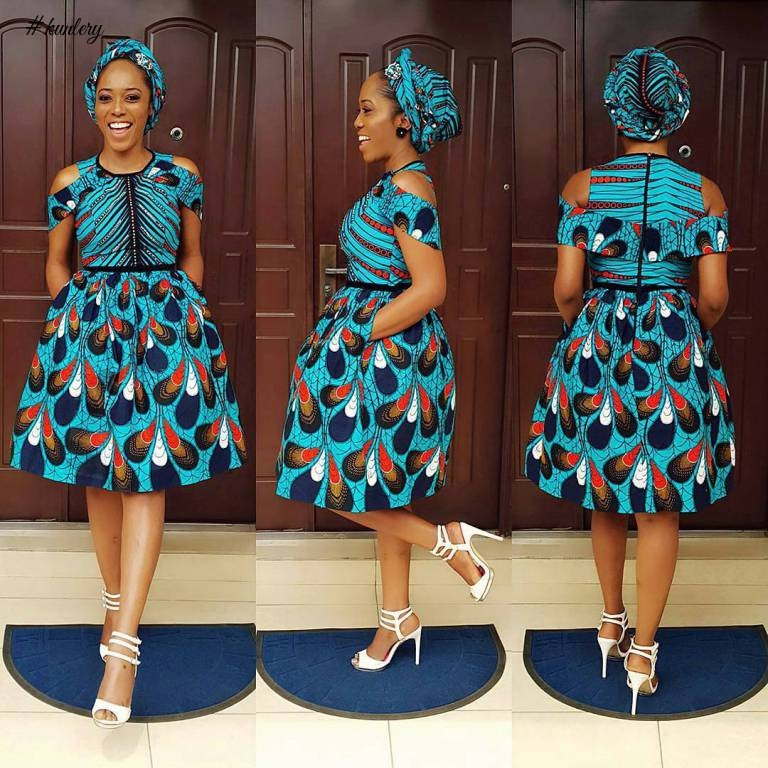TRENDING ANKARA FABRIC SERIOUSLY BUZZING IN LAGOS