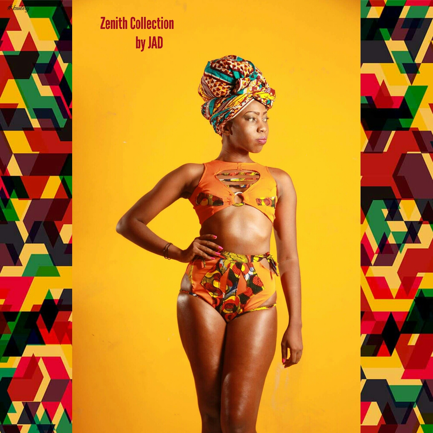 Senegalese Designer Brand JAD Presents The First Part Of It's Zenith Swimwear Collection