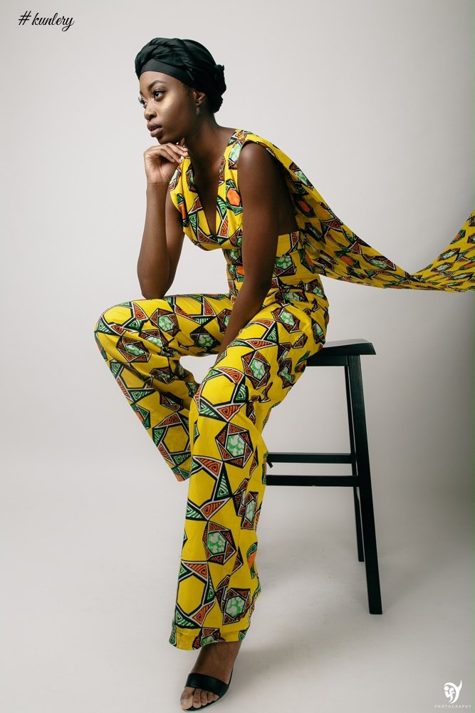 "TEHILAH ABAKASANGA PRESENTS THE ""IGHO"" COLLECTION NAMED AFTER HER MOTHER"