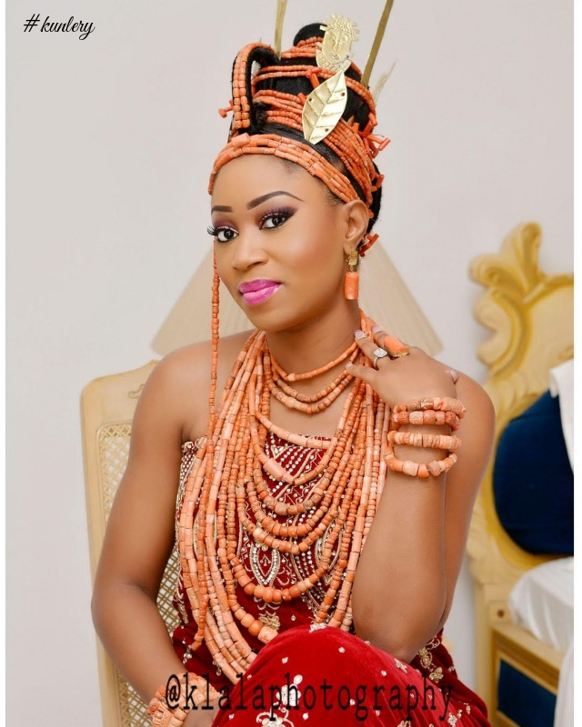 Photos From Ewemade & Abidemi's Traditional Wedding